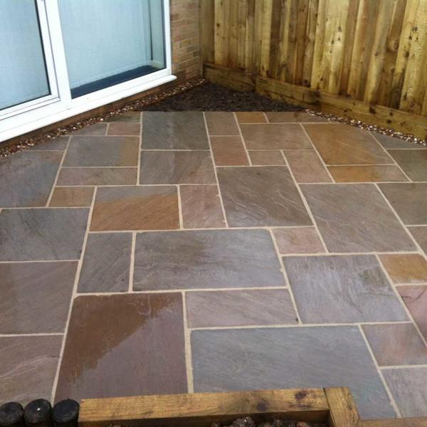 Natural Sandstone in East Bridgford