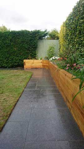 Block-paved or slabbed paths and driveways in traditional and modern patterns to suit your property.