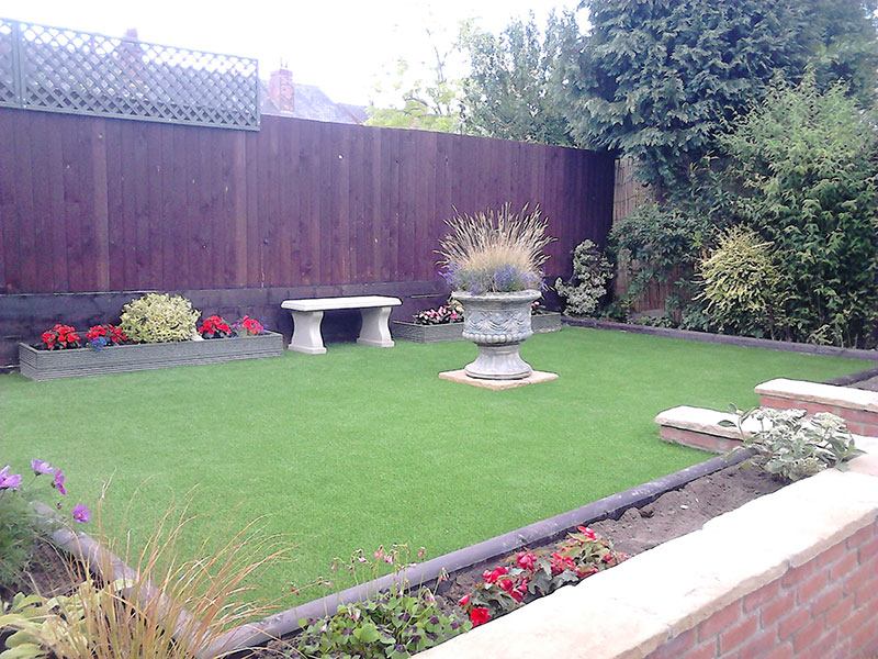 Forget the mower! Get the fresh feel and great looks of artificial grass, to replace an existing lawn or cover a troublesome patch of ground.